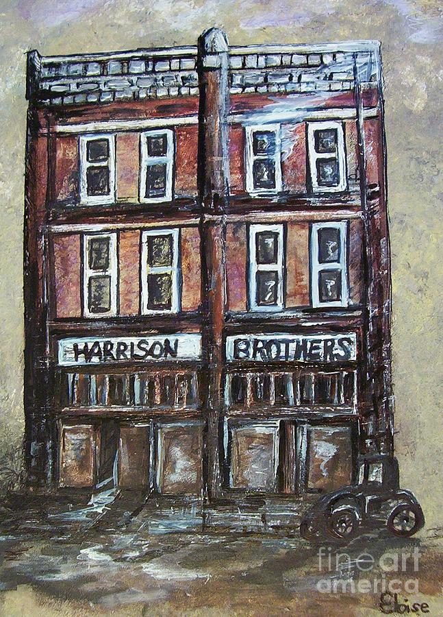The Old Store Painting