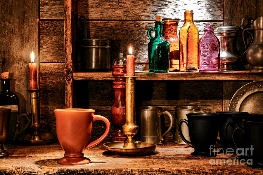 Tavern Photograph - The Old Tavern by Olivier Le Queinec