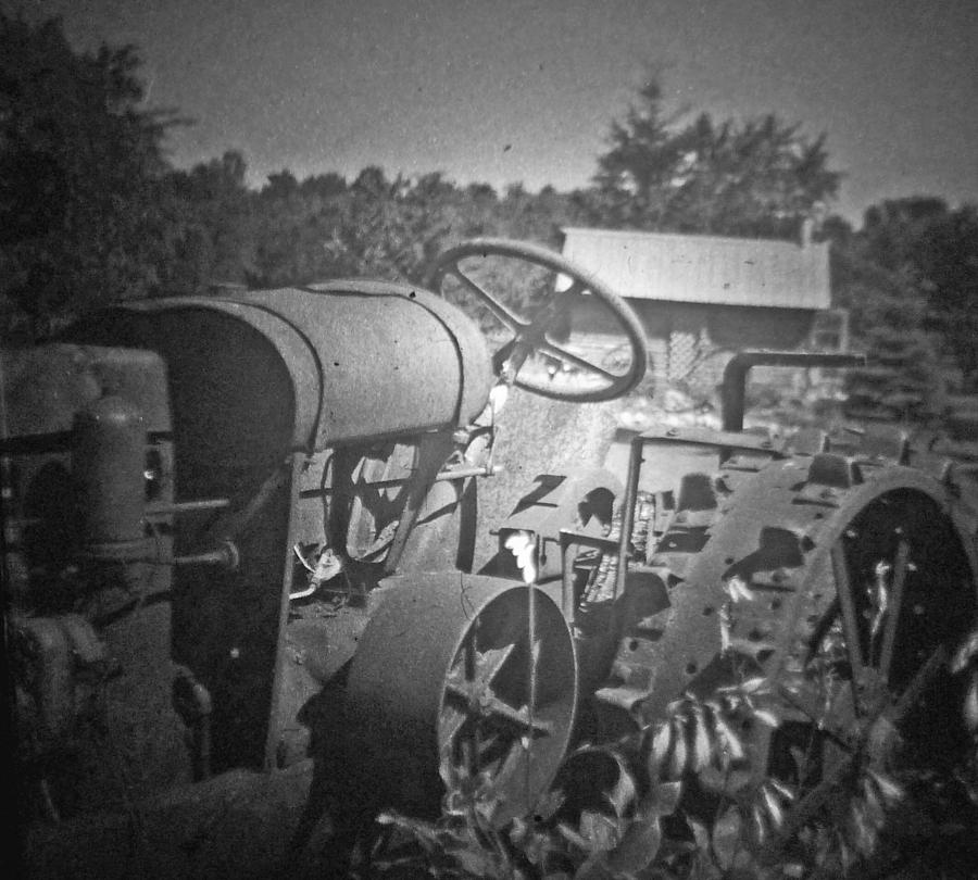 The Old Tractor Photograph