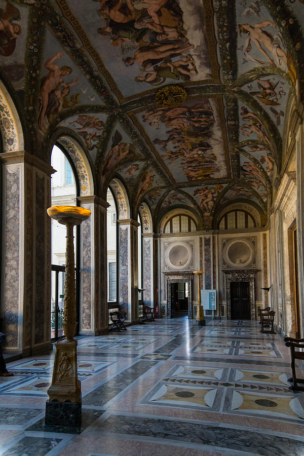 The Opulent Loggia In Villa Farnesina Rome Italy - 1 Photograph