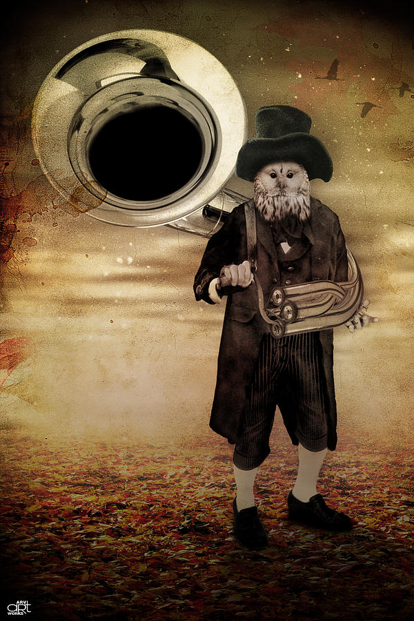 The Organ Grinder Digital Art