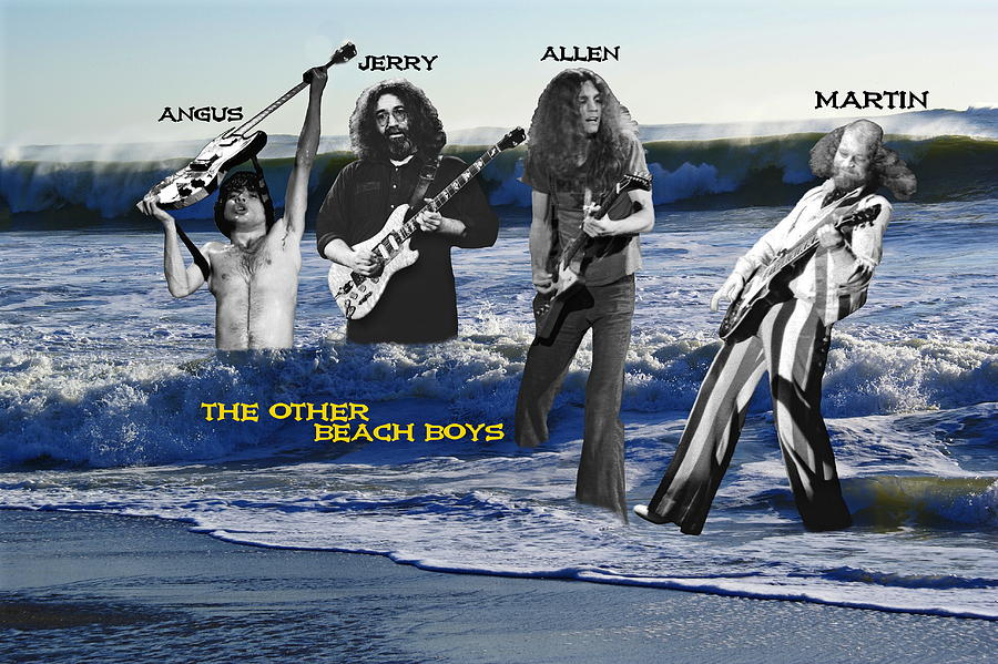 Rock Images Photograph - The Other Beach Boys by Ben Upham