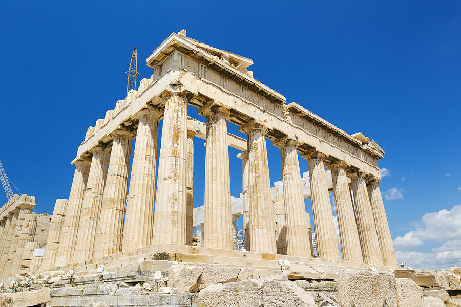 The Parthenon Photograph  - The Parthenon Fine Art Print