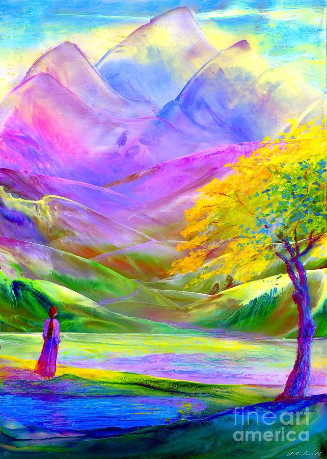The Path Beyond Painting  - The Path Beyond Fine Art Print