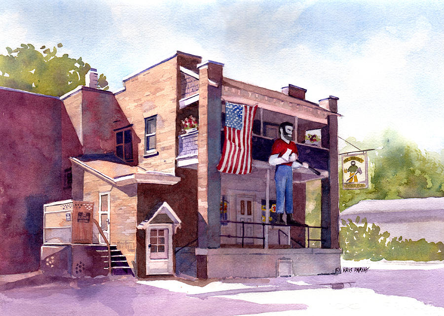 The Paul Bunyan Hotel Painting