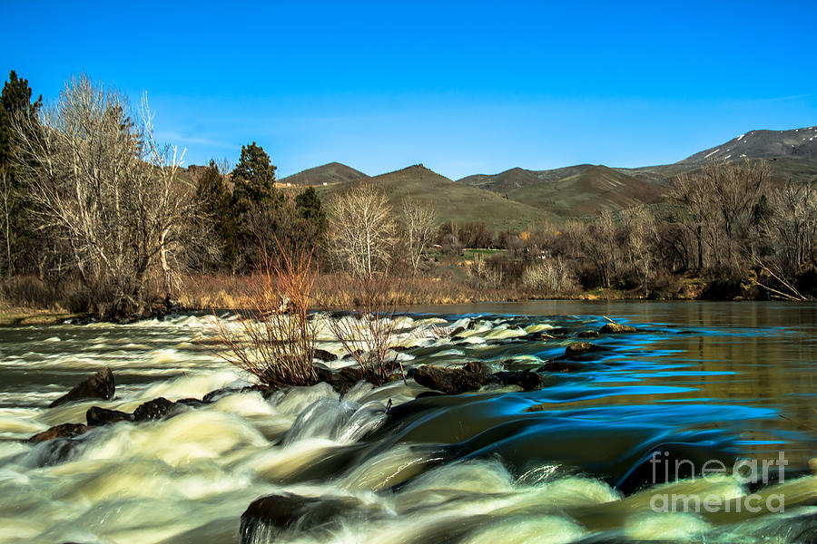 The Payette River Photograph  - The Payette River Fine Art Print