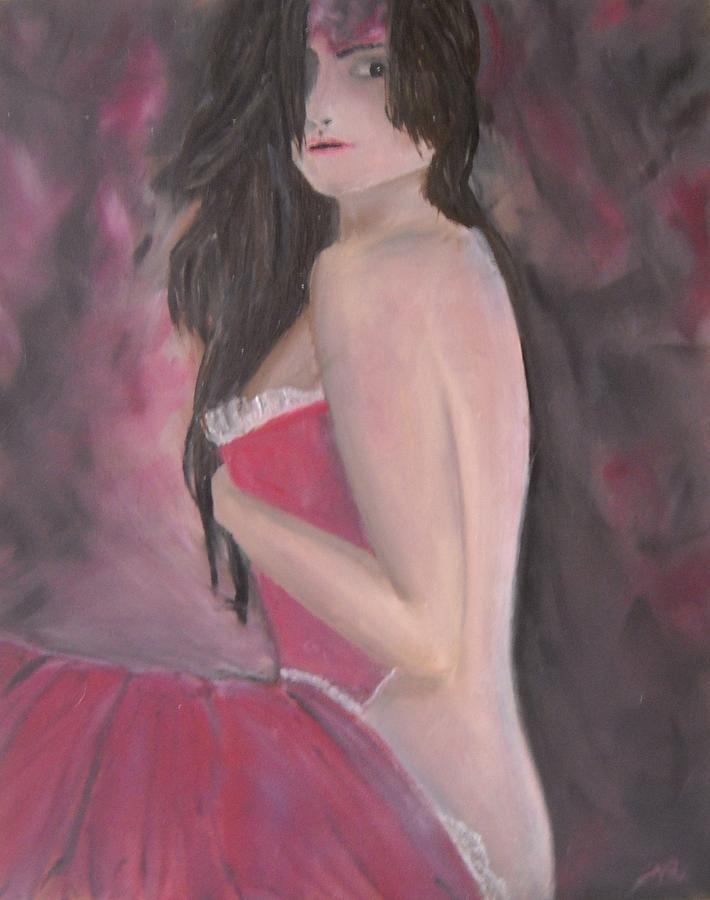 The Perfect Woman Karma 2 Painting  - The Perfect Woman Karma 2 Fine Art Print