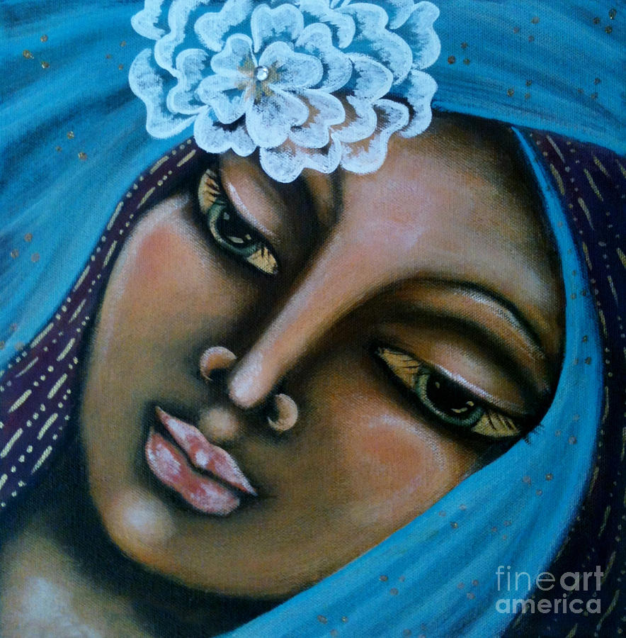 Sacred Art Painting - The Perfected Soul by Maya Telford