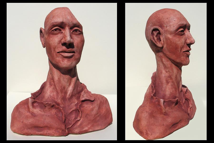 Philosopher Sculpture - The Philosopher by Julianna Wells