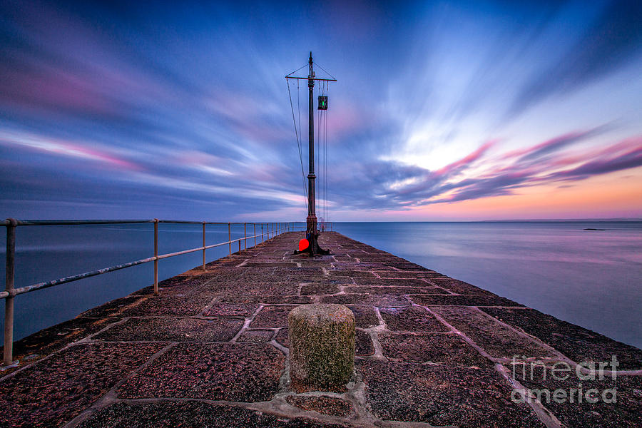 The Pier At Sun Rise Photograph
