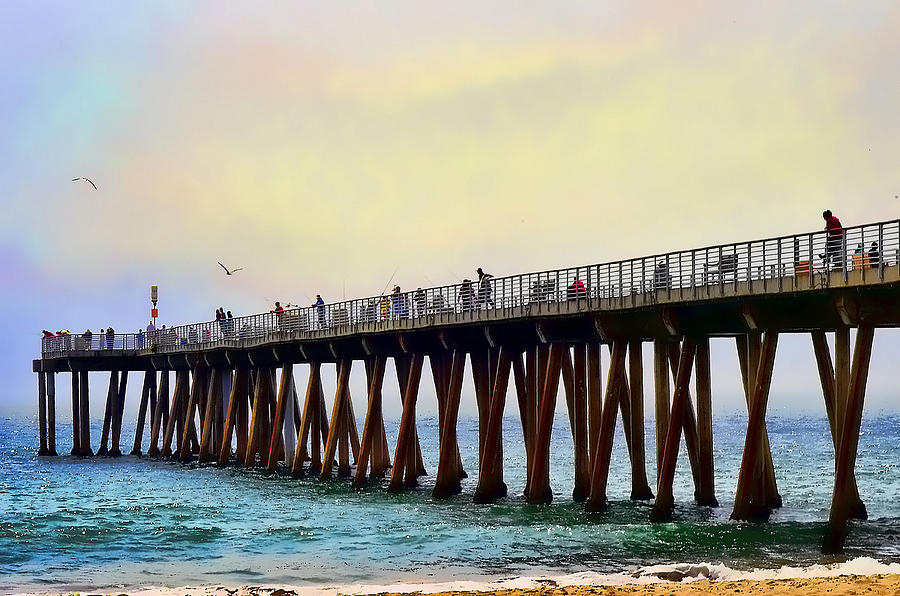Pier Photograph - The Pier by Camille Lopez