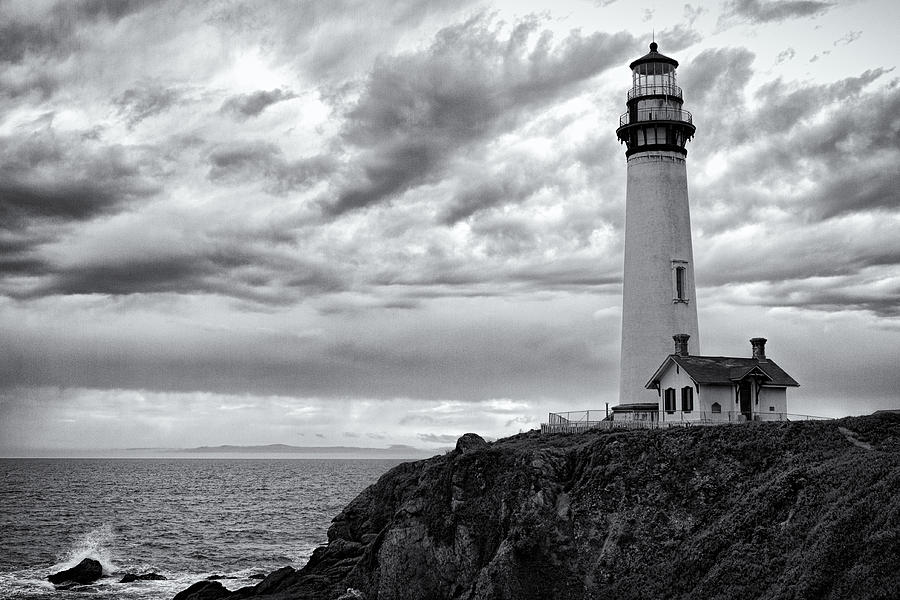 The Pigeon Point Beacon Photograph  - The Pigeon Point Beacon Fine Art Print