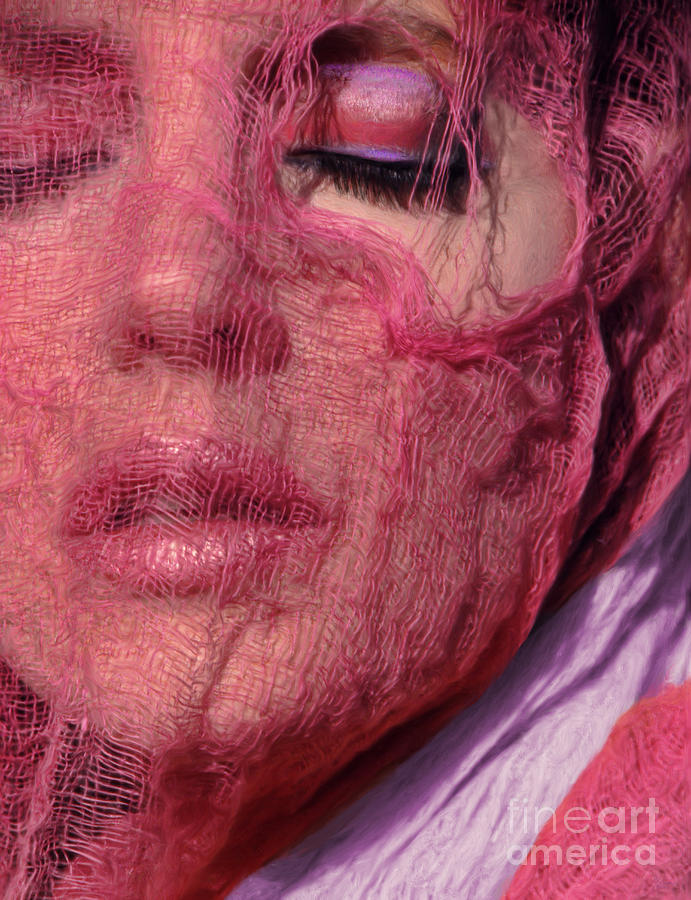 Pink Photograph - The Pink Scarf by Jeff Breiman