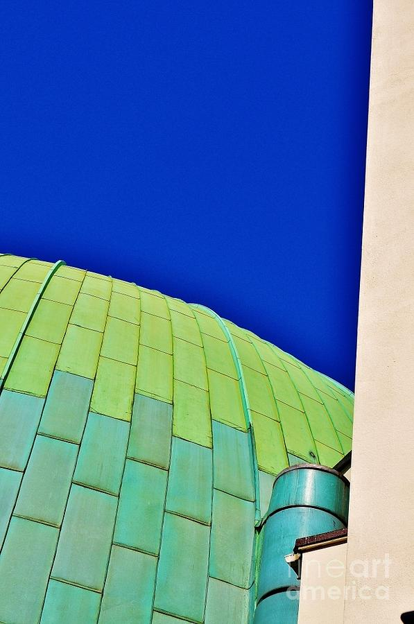 The Planetariam London Photograph  - The Planetariam London Fine Art Print
