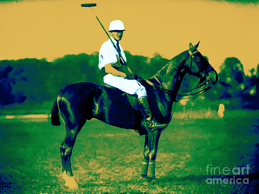 The Polo Player - 20130208 Photograph  - The Polo Player - 20130208 Fine Art Print