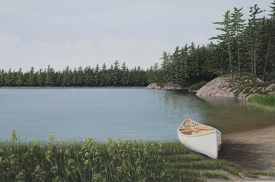 The Portage Painting