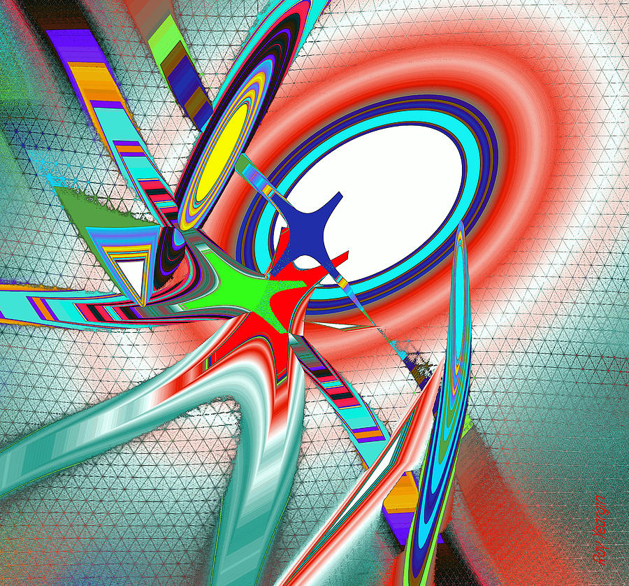The Portal Digital Art  - The Portal Fine Art Print