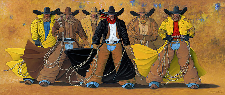 The Posse Painting  - The Posse Fine Art Print