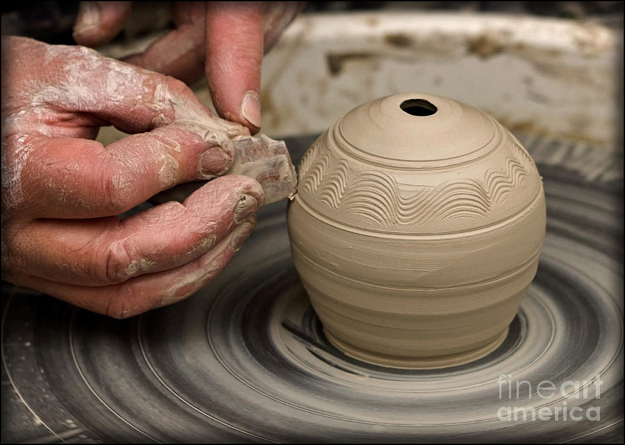 The Potters Wheel Photograph