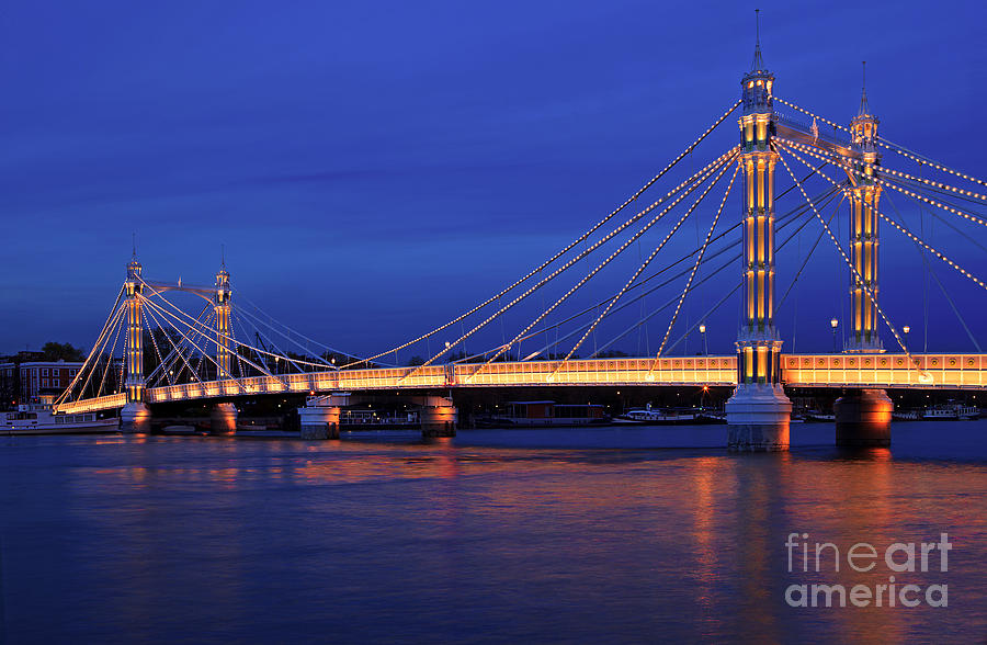 The Prettiest Bridge In Town. Photograph  - The Prettiest Bridge In Town. Fine Art Print