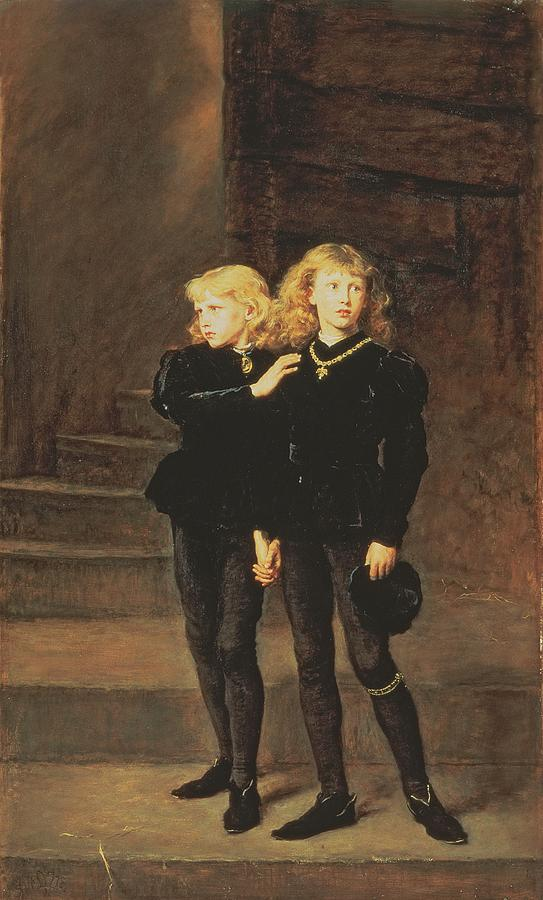 The Princes Edward And Richard Painting