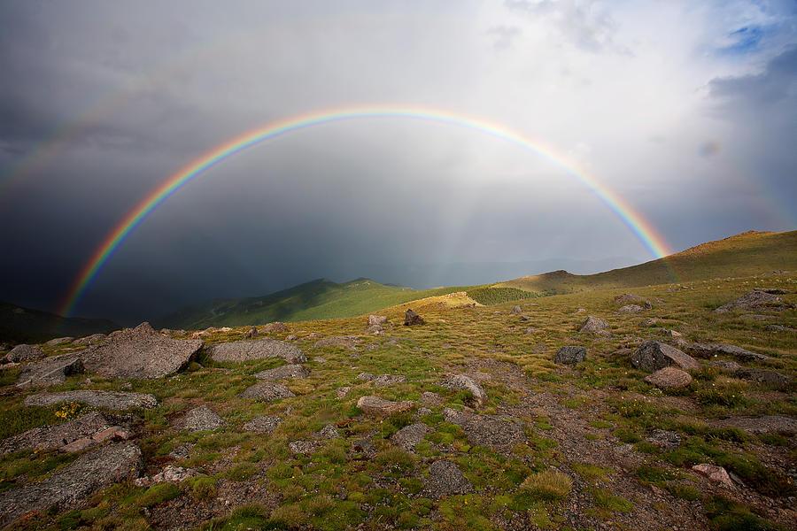 Rainbow Photograph Photograph - The Promise by Jim Garrison