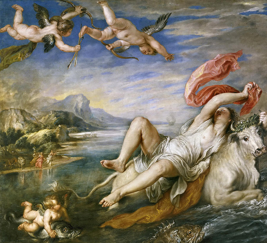 the rape of europa painting by peter paul rubens