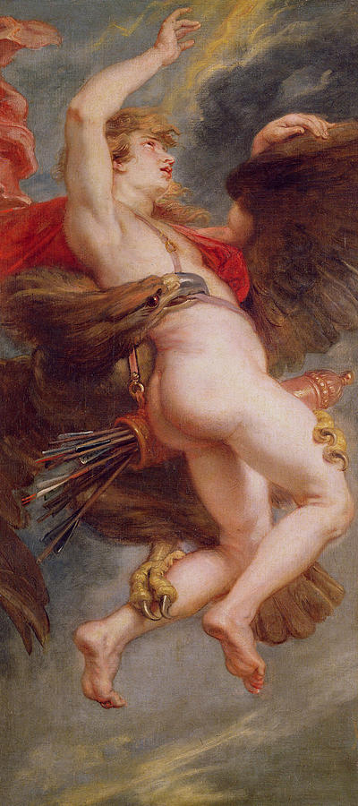 The Rape Of Ganymede Painting