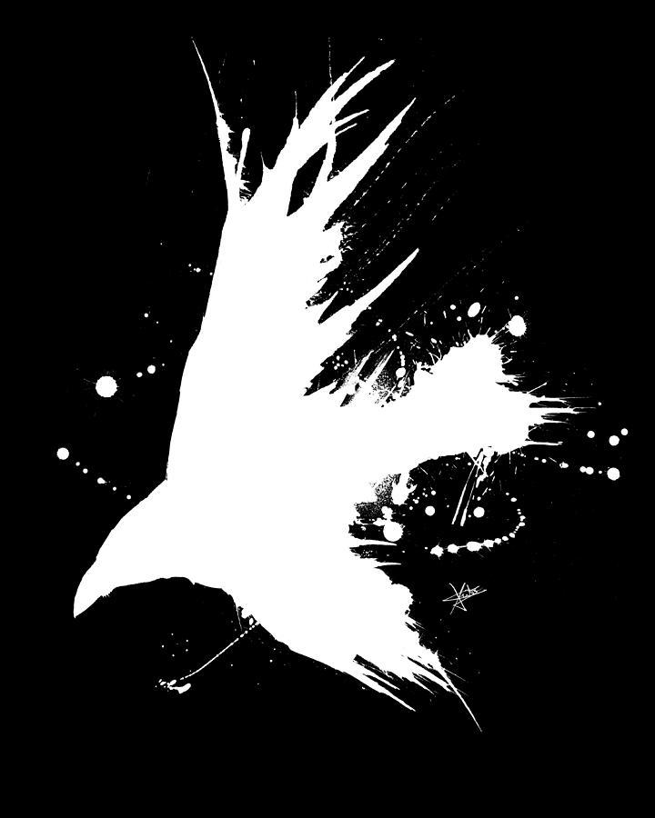 The Raven IIl Digital Art