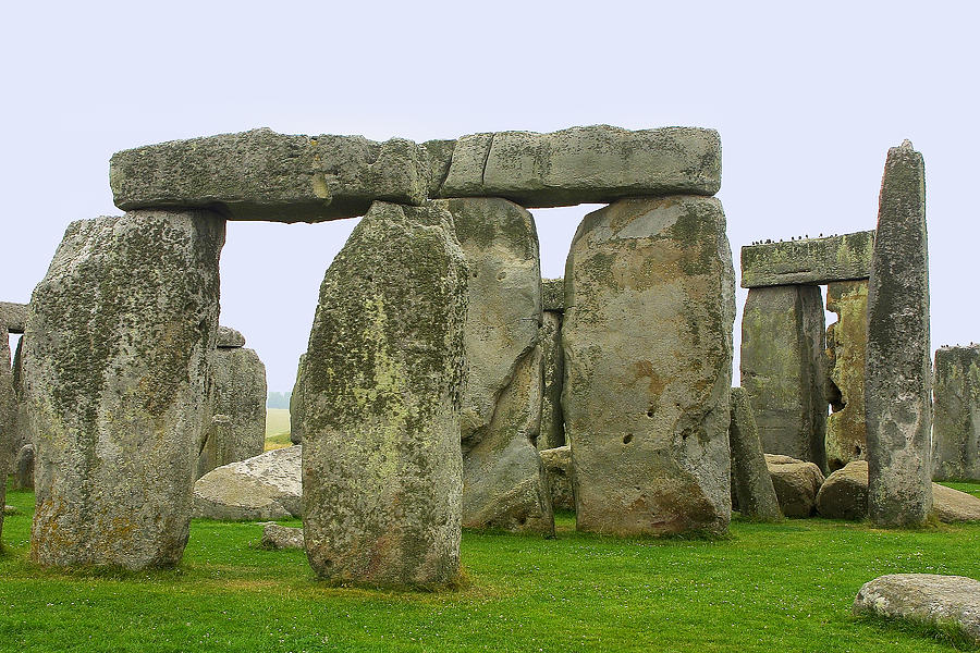 The Real Stonehenge Photograph  - The Real Stonehenge Fine Art Print