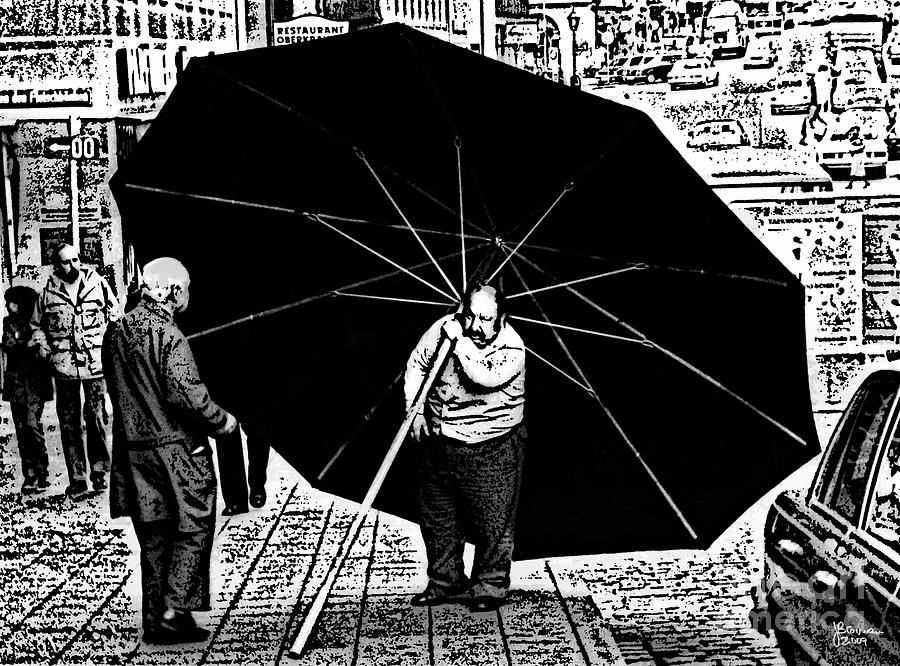 The Really Big Umbrella Photograph  - The Really Big Umbrella Fine Art Print