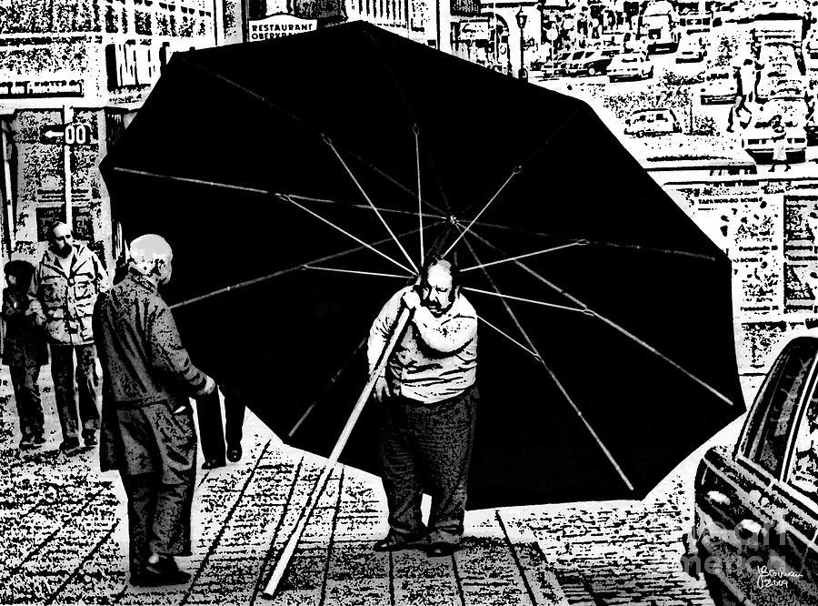 Umbrella Photograph - The Really Big Umbrella by Jeff Breiman
