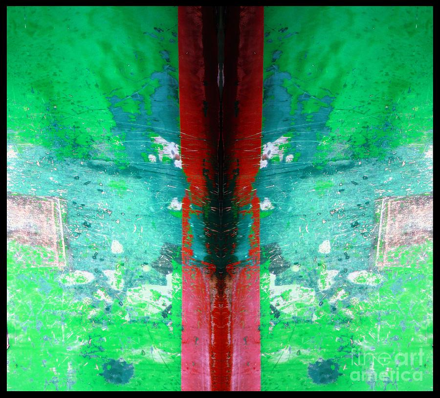 Abstract Photograph - The Red Blade by Marcia Lee Jones