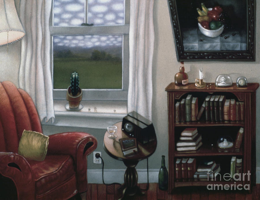 The Red Chair 1997 Painting