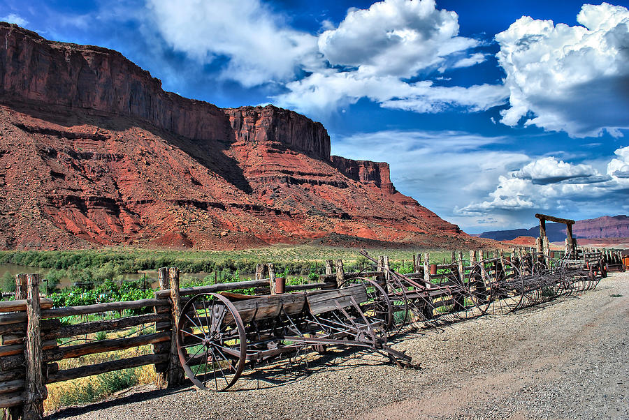 The Red Cliffs Photograph