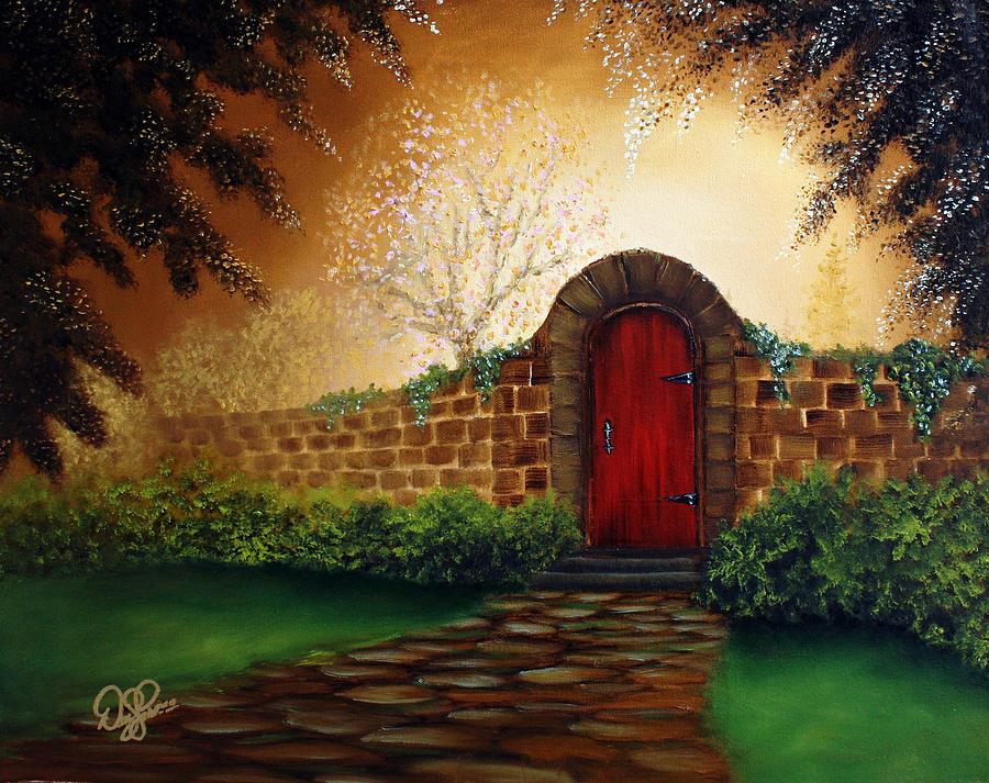 The Red Door Painting