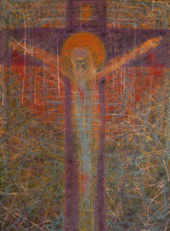 Redeemer Painting - The Redeemer by Adel Nemeth