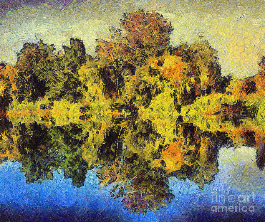 The Reflections Painting  - The Reflections Fine Art Print