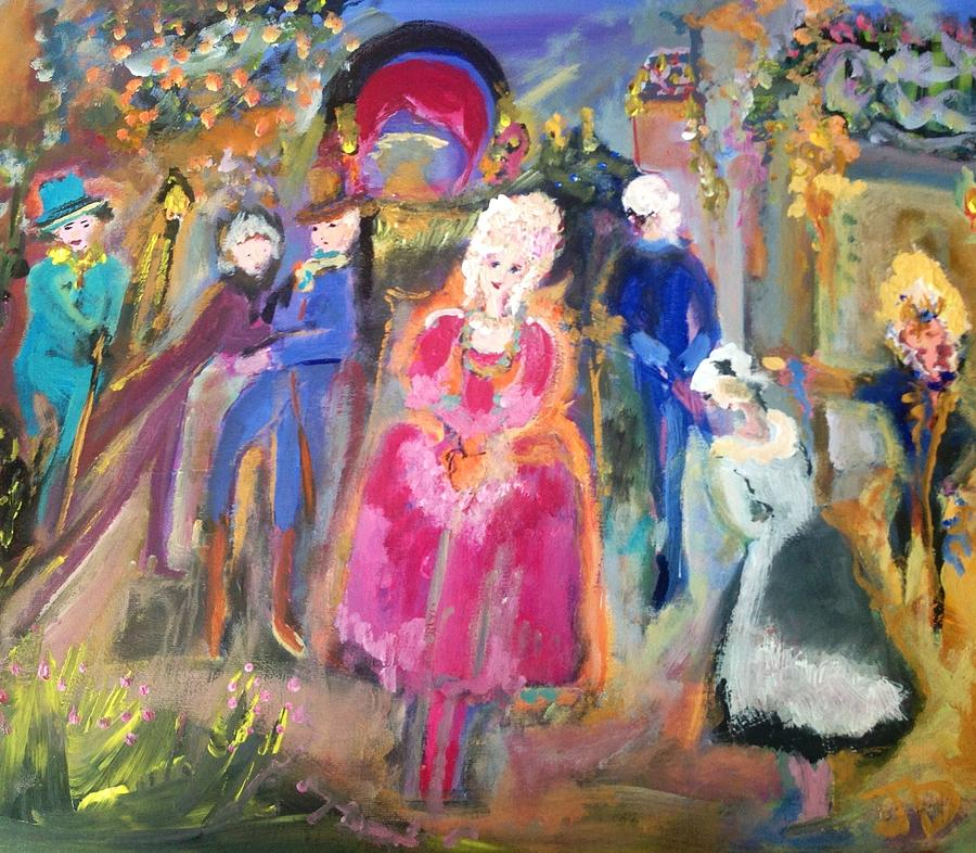 The Regency Ballet Painting