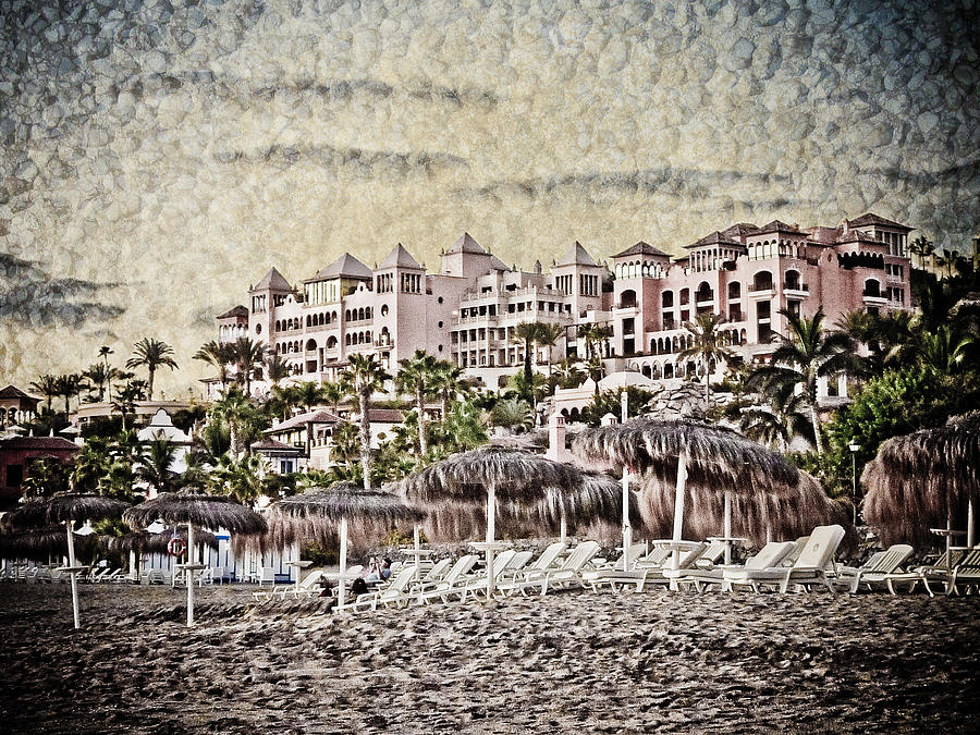The Resort Beach Photograph  - The Resort Beach Fine Art Print