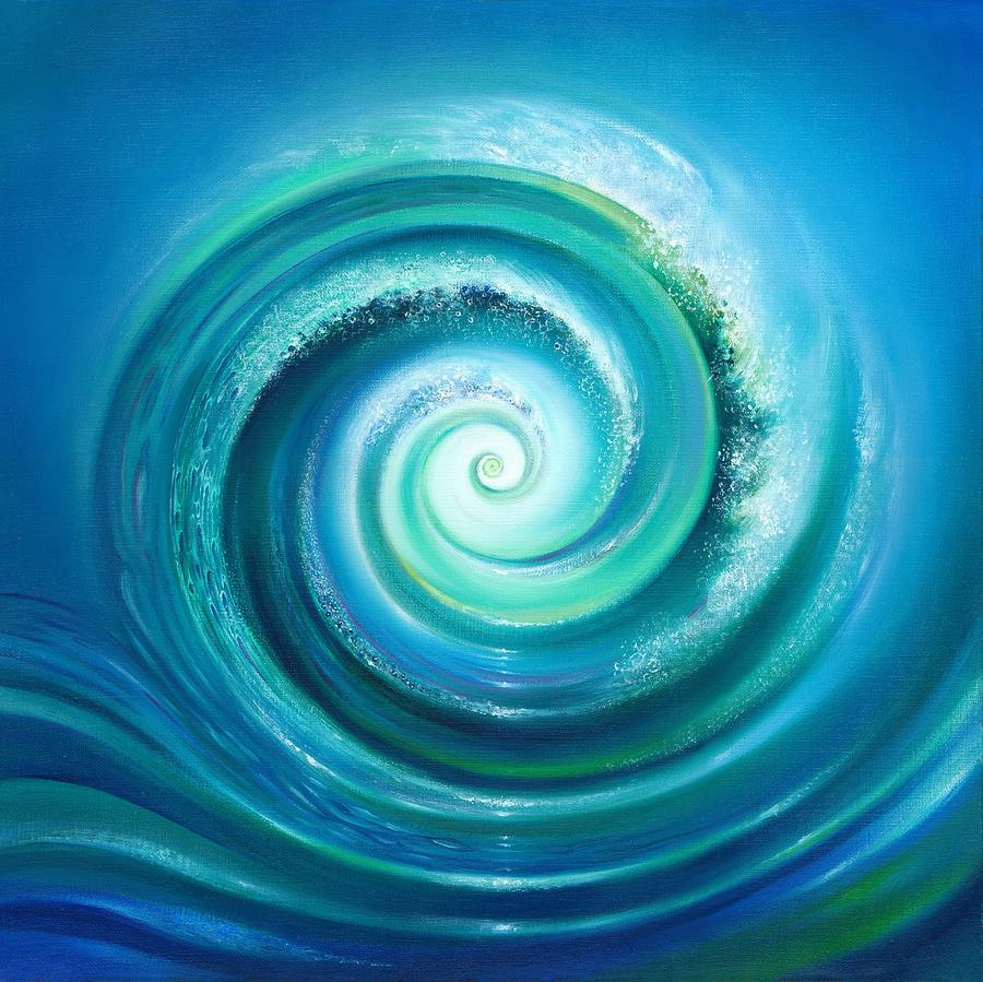The Return Wave Painting  - The Return Wave Fine Art Print
