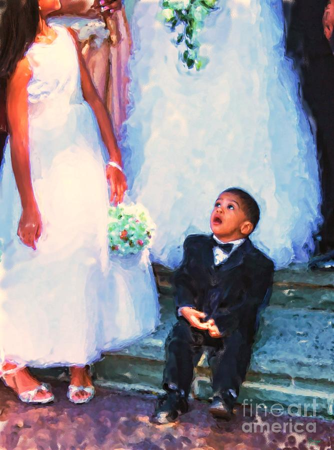 The Ring Bearer Photograph  - The Ring Bearer Fine Art Print