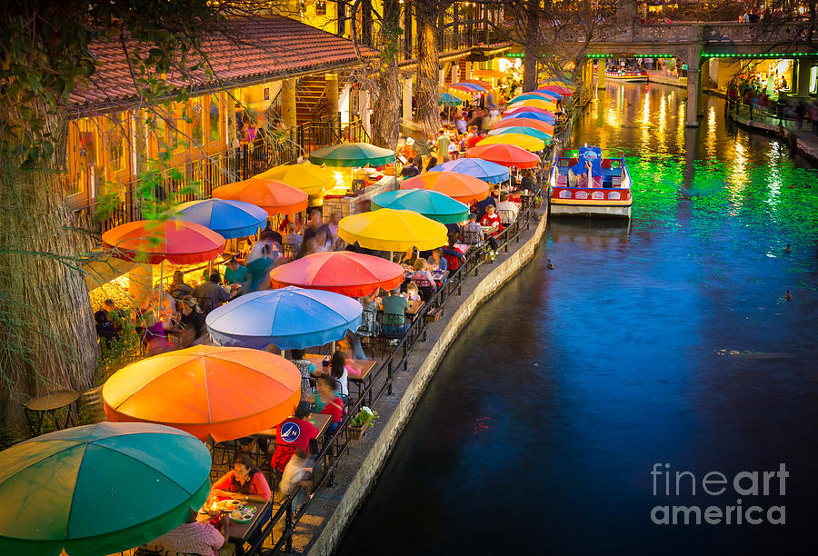 The Riverwalk Photograph  - The Riverwalk Fine Art Print