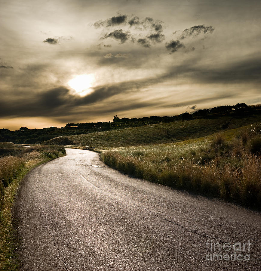 The Road Photograph  - The Road Fine Art Print