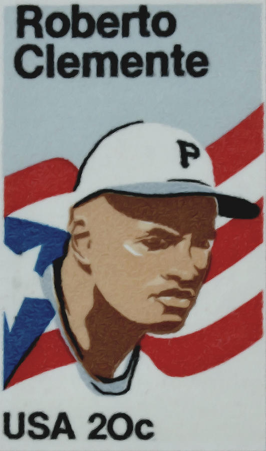 The Roberto Clemente  Painting