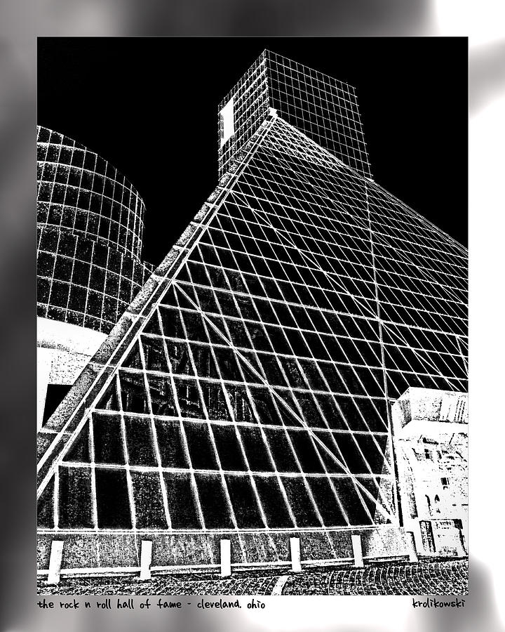 The Rock Hall Cleveland Photograph