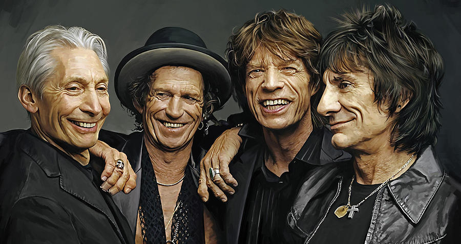 The Rolling Stones Artwork 1 Painting