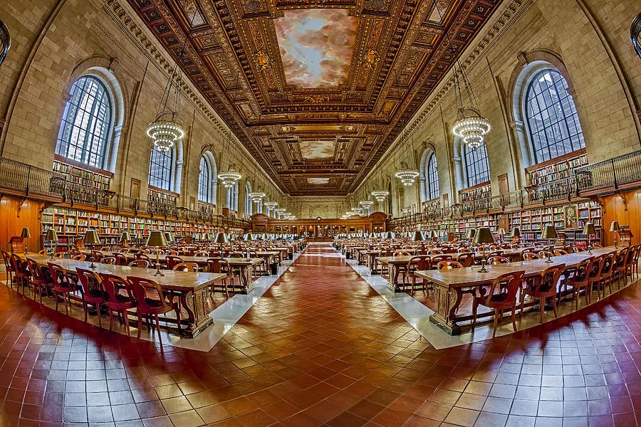 The Rose Main Reading Room Nypl Photograph