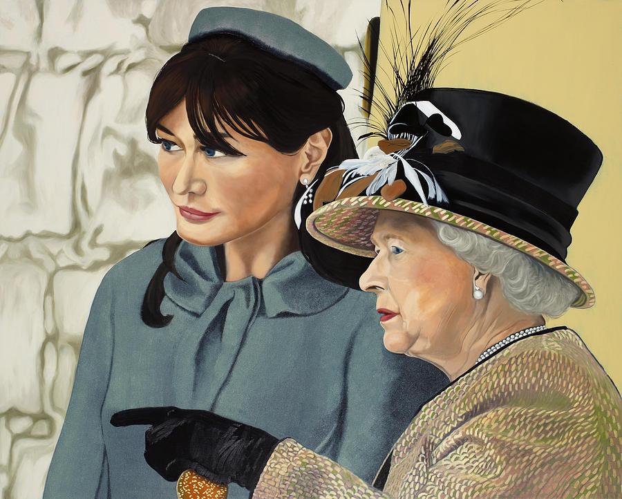 Royal Painting - The Royal Burger by Marcella Lassen