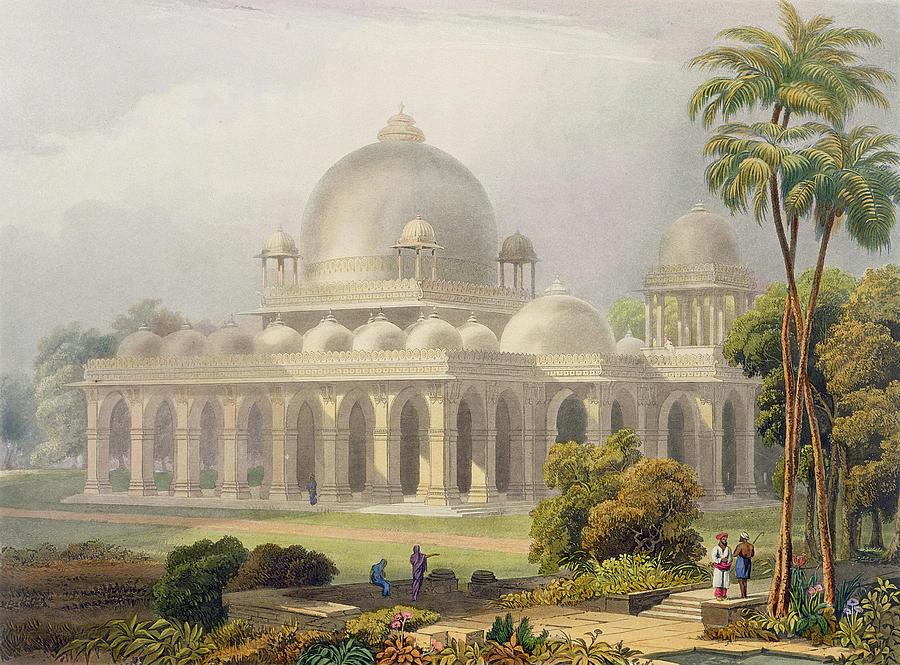 The Roza At Mehmoodabad In Guzerat, Or Drawing